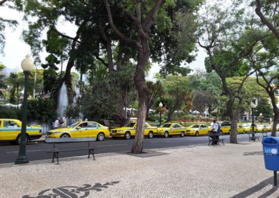 L'enfilade des taxis