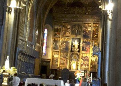 L'intérieure de la cathédrale
